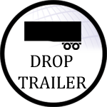 Drop-trailer icon